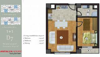 آپارتمان جذاب در یک موقعیت مرکزی, پلان ملک-2