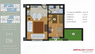 آپارتمان جذاب در یک موقعیت مرکزی, پلان ملک-3