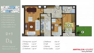 آپارتمان جذاب در یک موقعیت مرکزی, پلان ملک-5