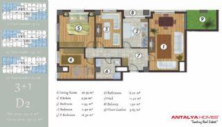 آپارتمان جذاب در یک موقعیت مرکزی, پلان ملک-8