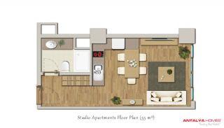 Stijlvolle Appartementen te Koop in het Centrum van de Stad, Vloer Plannen-1