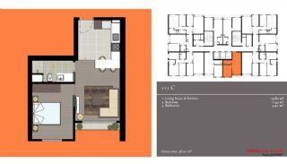 مدرن آپارتمان برای فروش, پلان ملک-1