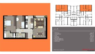 مدرن آپارتمان برای فروش, پلان ملک-2
