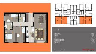 مدرن آپارتمان برای فروش, پلان ملک-4