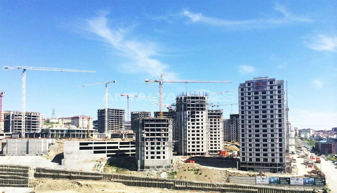 Projet de luxe avec centre commercial for Projet de construction