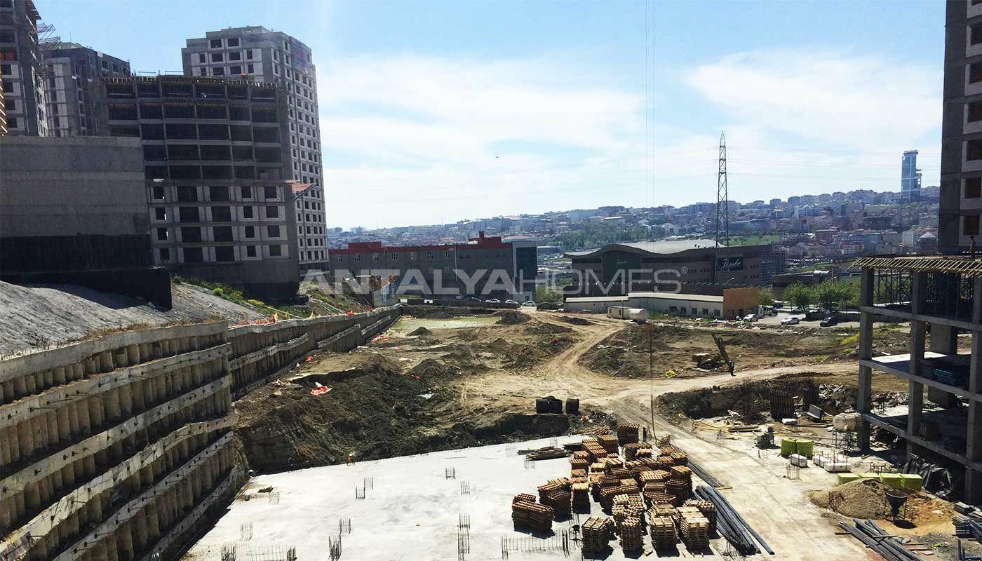 Projet de luxe avec centre commercial for Projet construction