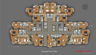 Элитный Проект с Торговым Центром, Планировка -7
