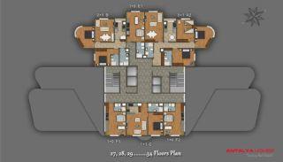 Элитный Проект с Торговым Центром, Планировка -9