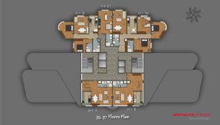 Элитный Проект с Торговым Центром, Планировка -10