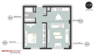 بوتیک آپارتمان در موقعیت مرکزی, پلان ملک-2