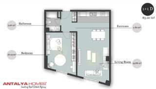 بوتیک آپارتمان در موقعیت مرکزی, پلان ملک-4