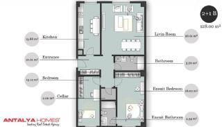 بوتیک آپارتمان در موقعیت مرکزی, پلان ملک-6