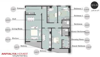 بوتیک آپارتمان در موقعیت مرکزی, پلان ملک-7