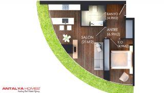 5-stjärnigt hotellkonsept med svitlägenheter, Planritningar-2