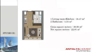 Lyxiga smart lägenheter med VIP service, Planritningar-2