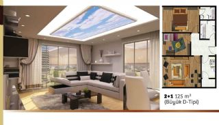 Luxuriose Wohnungen mit Hotel und Einkaufszentrum im gleichen Komplex, Immobilienplaene-3
