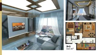 Luxuriose Wohnungen mit Hotel und Einkaufszentrum im gleichen Komplex, Immobilienplaene-5