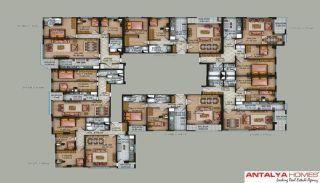 Speciella lägenheter i exklusivt område i Eyüp, Istanbul, Planritningar-1