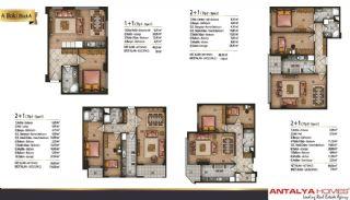 Speciella lägenheter i exklusivt område i Eyüp, Istanbul, Planritningar-2