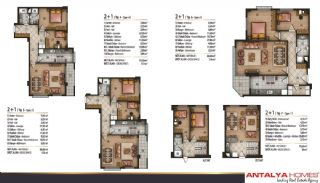 Speciella lägenheter i exklusivt område i Eyüp, Istanbul, Planritningar-3