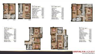 Speciella lägenheter i exklusivt område i Eyüp, Istanbul, Planritningar-4