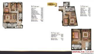 Speciella lägenheter i exklusivt område i Eyüp, Istanbul, Planritningar-5