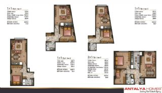 Speciella lägenheter i exklusivt område i Eyüp, Istanbul, Planritningar-6