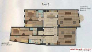 Апартаменты в Центре Района Эюп/Стамбул, Планировка -3