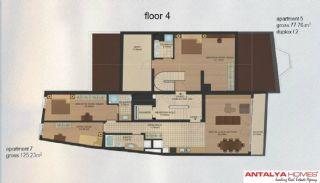 Апартаменты в Центре Района Эюп/Стамбул, Планировка -4