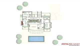 Meerovever Villas in Buyukcekmece, Istanbul, Vloer Plannen-3