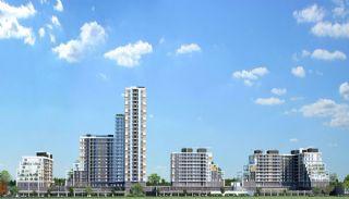 Luxus Wohnungen zu verkaufen in einem Komplex , Istanbul / Beylikduzu - video