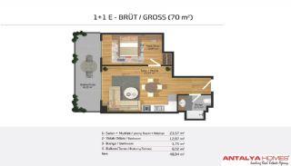 Lyxlägenheter till Salu i ett bostadskomplex, Planritningar-8