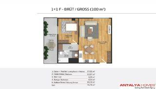 Апартаменты на Продажу в Элитном Комплексe, Планировка -9