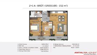 Апартаменты на Продажу в Элитном Комплексe, Планировка -11