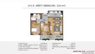 Апартаменты на Продажу в Элитном Комплексе, Планировка -15