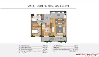 Апартаменты на Продажу в Элитном Комплексе, Планировка -16