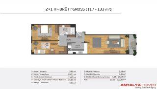 Апартаменты на Продажу в Элитном Комплексe, Планировка -18