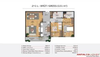 Апартаменты на Продажу в Элитном Комплексe, Планировка -20