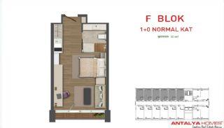 Attraktiva lägenheter till salu i Beylikdüzü, Istanbul, Planritningar-1