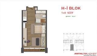Attraktiva lägenheter till salu i Beylikdüzü, Istanbul, Planritningar-2