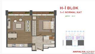 Attraktiva lägenheter till salu i Beylikdüzü, Istanbul, Planritningar-4