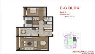 Attraktiva lägenheter till salu i Beylikdüzü, Istanbul, Planritningar-5