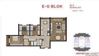 Attraktiva lägenheter till salu i Beylikdüzü, Istanbul, Planritningar-6