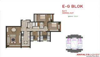 Attraktiva lägenheter till salu i Beylikdüzü, Istanbul, Planritningar-7