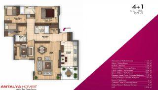 Новые Апартаменты в Хорошем Комплексе, Планировка -7