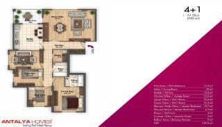 Новые Апартаменты в Хорошем Комплексе, Планировка -9