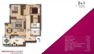 Новые Апартаменты в Хорошем Комплексе, Планировка -10