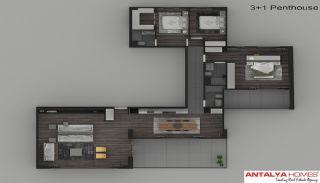 Элитные Апартаменты в Комплексе, Планировка -1