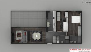 Элитные Апартаменты в Комплексе, Планировка -2