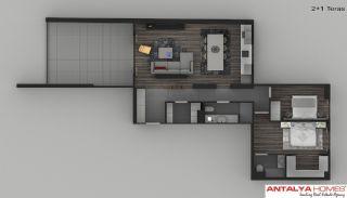 Элитные Апартаменты в Комплексе, Планировка -4